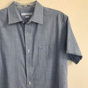 Southern Tide short sleeve button down shirt